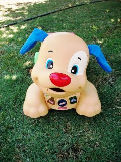 #7--Fisher Price Educational Riding Dog