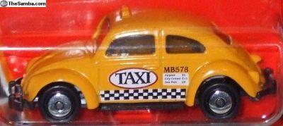 Matchbox Volkswagen Beetle Taxi - yellow