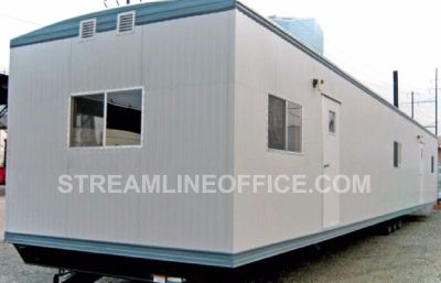 Commercial, Retail Office Unit. Job Site Office Trailers