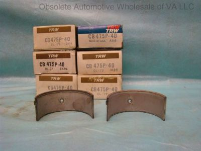 Purchase IHC 220 240 241 264 265 Rod Bearing Set 040 Blue Gray Black Silver Diamond motorcycle in Vinton, Virginia, United States, for US $155.00