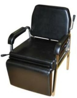 Reclining Shampoo chair w foot rest.
