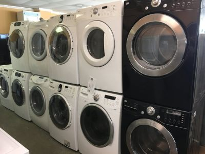 Washers & Dryers Available