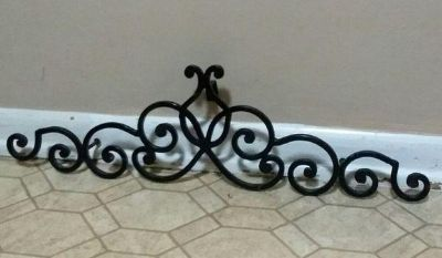 WROUGHT IRON WALL DECOR....EXCELLENT CONDITION