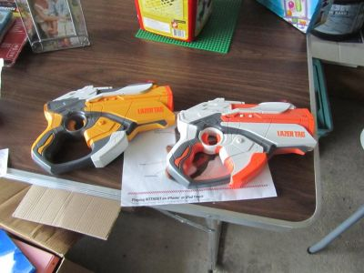 Hasbro NERF Lazer Tag Blasters Set - Lot of 2 Pieces