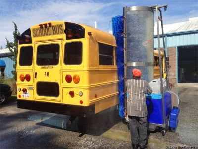 SCHOOL BUS CLEANING POSITION