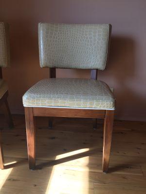 Croc Vinyl Dining Chairs