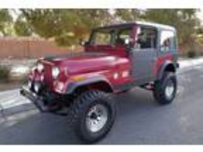1984 Jeep CJ CUSTOM BUILT V8 350 MOTOR with 4 BBL