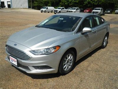 2018 Ford Fusion S (Ingot Silver)