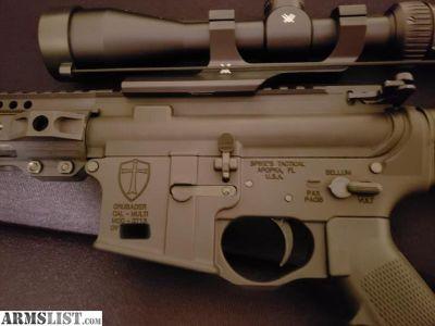 For Sale: 6.5 Grendel Spikes Crusader Lower AR-15