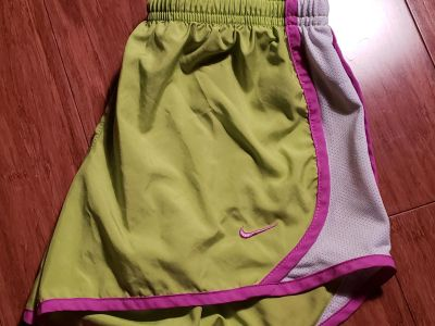 Small nike shorts lined
