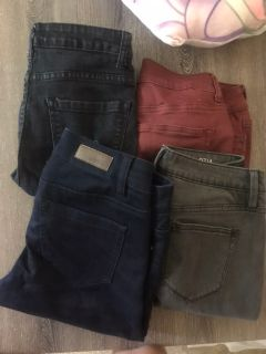 Size 4 jeans all for $10