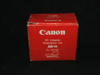Canon AC Adapter AD-11 for P20-DX Calculator NEW