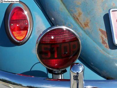 "Original 30's, 40's, 7"" Stop Lamp...w/mount."