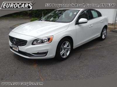 2014 Volvo S60 T5 (Crystal White Pearl)