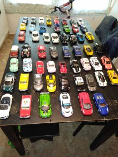 Small diecast cars