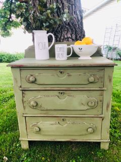 Restyled Antique Ornate Washstand