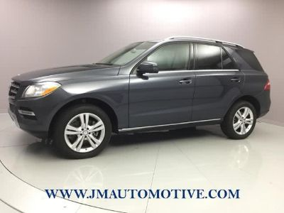 2013 Mercedes-Benz M-Class ML350 4MATIC (Steel Grey Metallic)