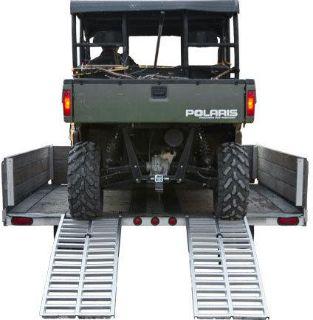 "Buy 65"" x 20"" RIDE MASTER DUAL RUNNER ATV UTV-GOLF CART TRAILER RAMPS-3000# UTV-6520 motorcycle in West Bend, Wisconsin, US, for US $179.99"