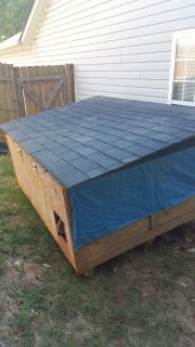 DOG HOUSE/CAT BUILDING FREE!!