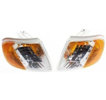 Buy 97-02 FORD EXPEDITION EURO Clear CORNER LIGHTS Lamp Pair LEFT + RIGHT NEW motorcycle in Canoga Park, California, US, for US $44.95
