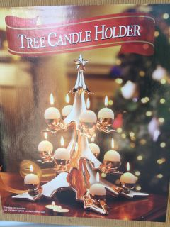 Tree Candle Holder new in the box