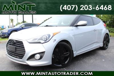 2015 Hyundai Veloster Turbo 3dr Hb 6 Speed Manual (Ironman Silver Metallic)