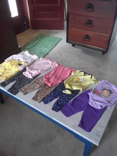 Girls 0-3 to 6 month size clothing