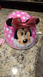 $5 or $7 Minnie Mouse toddler bike helmet