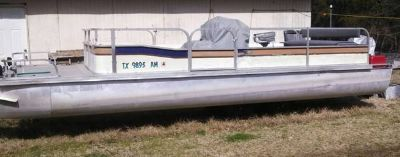 24 foot Appleby pontoon boat