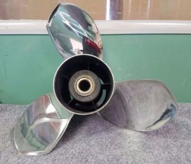 Buy Used Attwood OMC/Volvo SX 14 3/8 X 21 Ballistic Stainless Propeller, Pt # 346034 motorcycle in Scottsville, Kentucky, United States, for US $197.50