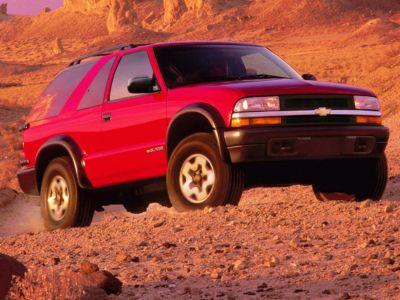 1999 Chevrolet Blazer LS (Indigo Blue Metallic)