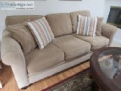LIKE NEW Couch Microfiber
