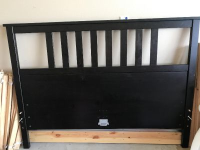 Queen size Hemmes bed from Ikea