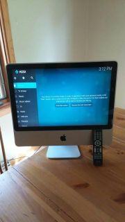 IMac converted to HDMI monitor with remote