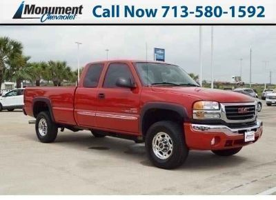 Used 2007 GMC Sierra 2500HD Classic Extended Cab Pickup