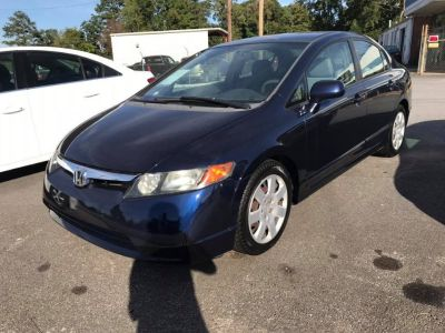 2007 Honda Civic LX (Blue)