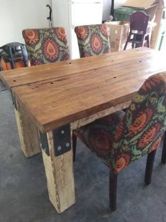 Farm Table and four chairs