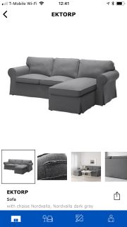 Almost new Ikea couch