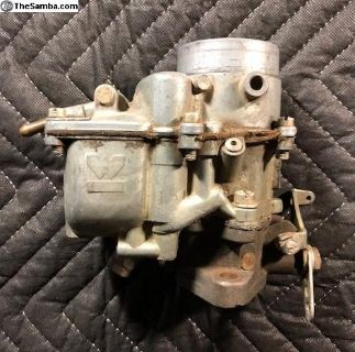Weber replacement carburetor