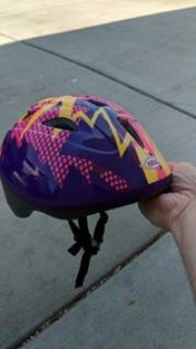 Bell kids bike helmet