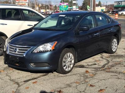 2015 Nissan Sentra SV 4dr Sedan (Blue)