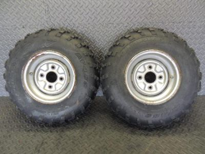 Find YAMAHA TIMBERWOLF 250 FRONT RIMS WHEELS 10X6 RIM 4/110 W/ TIRES 23-7-10 A motorcycle in Lehigh Acres, Florida, US, for US $95.00