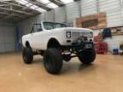 1980 International Harvester Scout 1980 Scout II Restomod Frame Off Restoration
