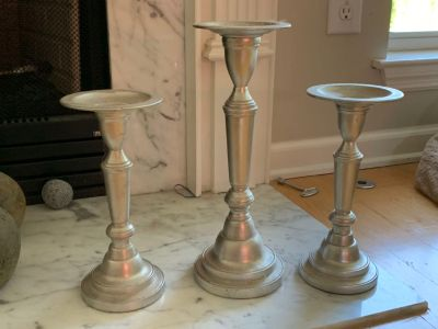 3 candle stick holders from Pottery Barn!