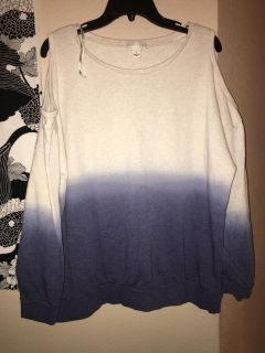 Forever 21 Two Tone Shirt