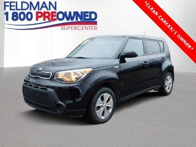 2014 Kia Soul Base (shadow black)