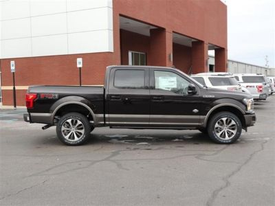 2019 Ford F-150 King Ranch 4WD SuperCrew 5.5' (Black)