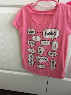 Old Navy pink size 8 shirt
