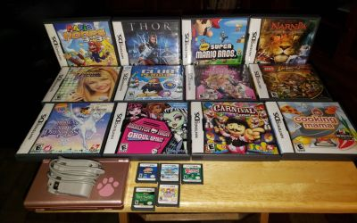 Nintendo Touch screen DS lite18 GAMES