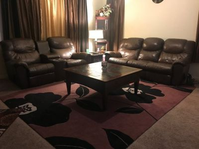 Sofas + FREE coffee table